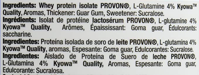 QUAMTRAX PROTEINA WHEY ISOPRO CFM SABOR FRESA Y KIWI 907 gr ...