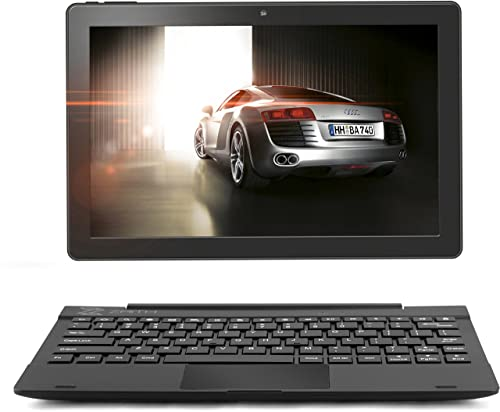 """2in1 Android Laptop tablet, 10.1"""" inch Android Tablet, Google Android 7.0 Nougat , 16 GB Tablet PC Expandable up to 128GB, 64 Bit Quad Core up to 1.5 GHZ processor , Dual Camera, WiFi, Bluetooth, 800x1280 IPS, Multi-touch screen, Google Play Pre-loaded. Connectible Keyboard Case included in Bundle offer. - ZAITH (10"""")"""