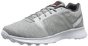Reebok Women's Sublite Speedpak Athletic MT Running Shoe,Flat Grey/Silver Metallic/White,8.5 M US