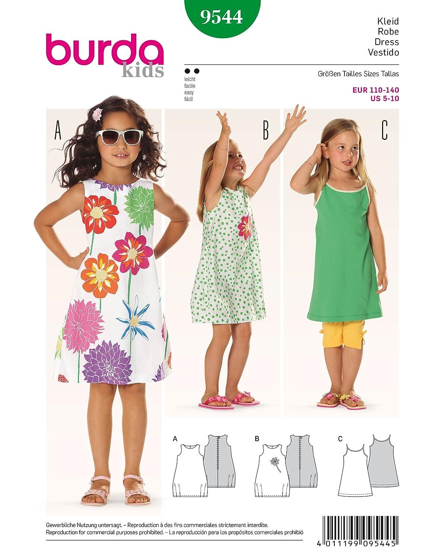Schnittmuster kleid 116 kostenlos