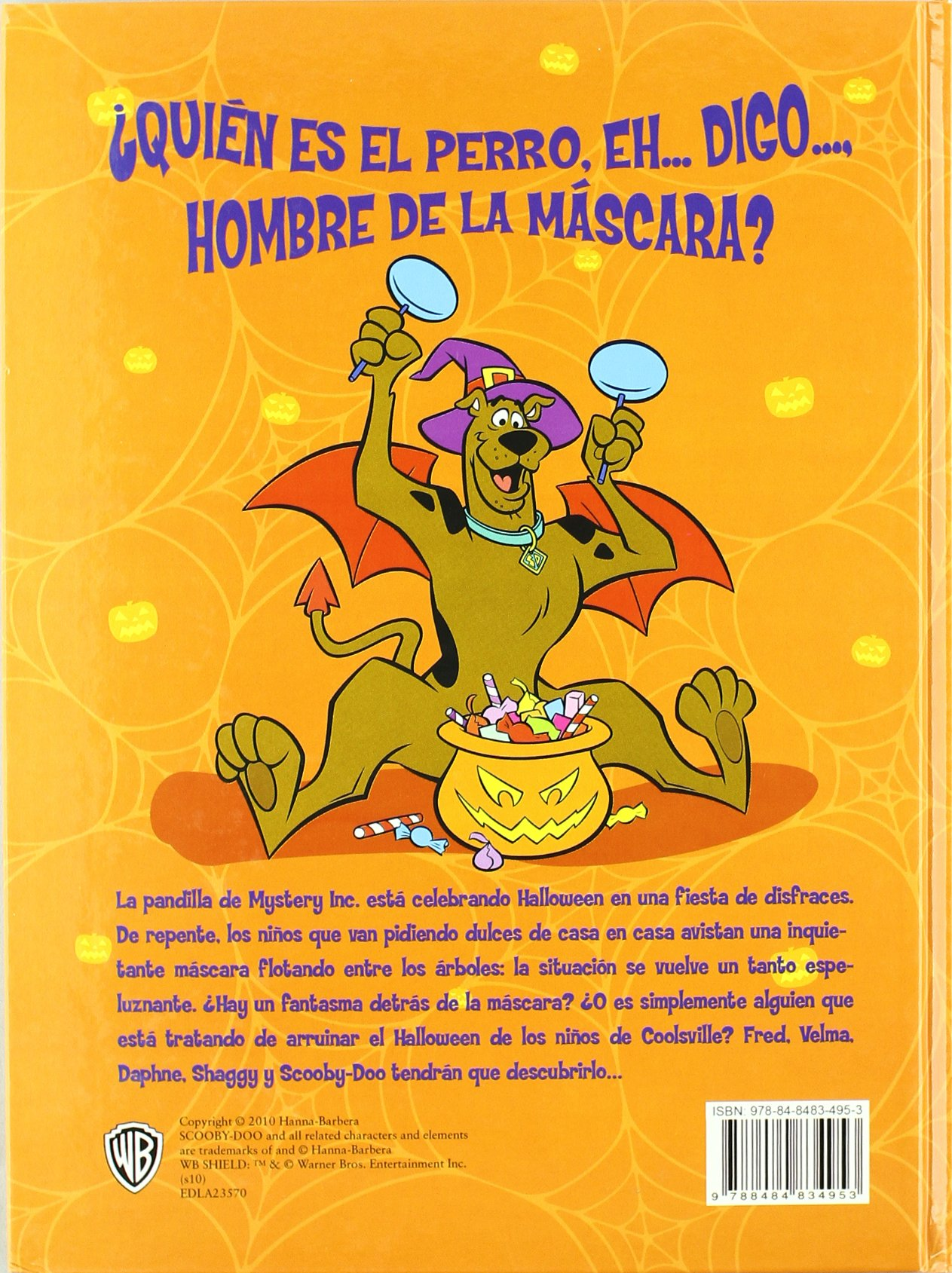 Scooby Doo y la máscara de Halloween embrujada: Jesse Leon McCann: 9788484834953: Amazon.com: Books