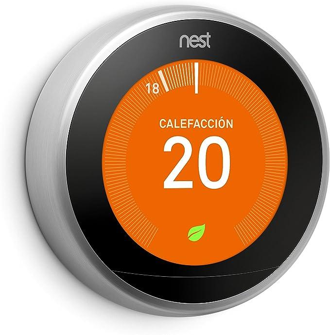 2nd Generation 3rd Negro Soporte para Nest Learning Thermostat Soporte de soporte EEEKit