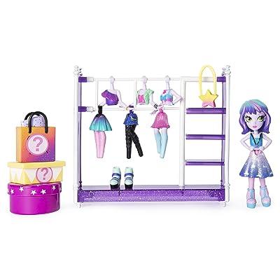 Off the Hook 6046892 Off The Style Studio, Juego Divertido con muñeca pequeña de 4 Pulgadas y Accesorios para niñas de 5 años en adelante: Juguetes y juegos