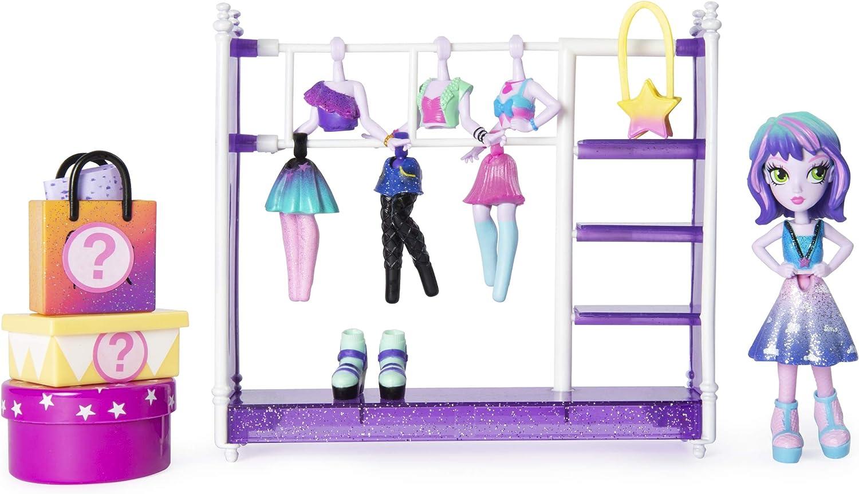 Off the Hook 6046892 Off The Style Studio, Juego Divertido con muñeca pequeña de 4 Pulgadas y Accesorios para niñas de 5 años en adelante