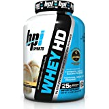 BPI Sports Whey HD 100% Protein Isolate - 2.26 kg (Vanilla Caramel)
