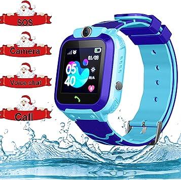 Amazon.com: Reloj inteligente para niños con rastreador de ...