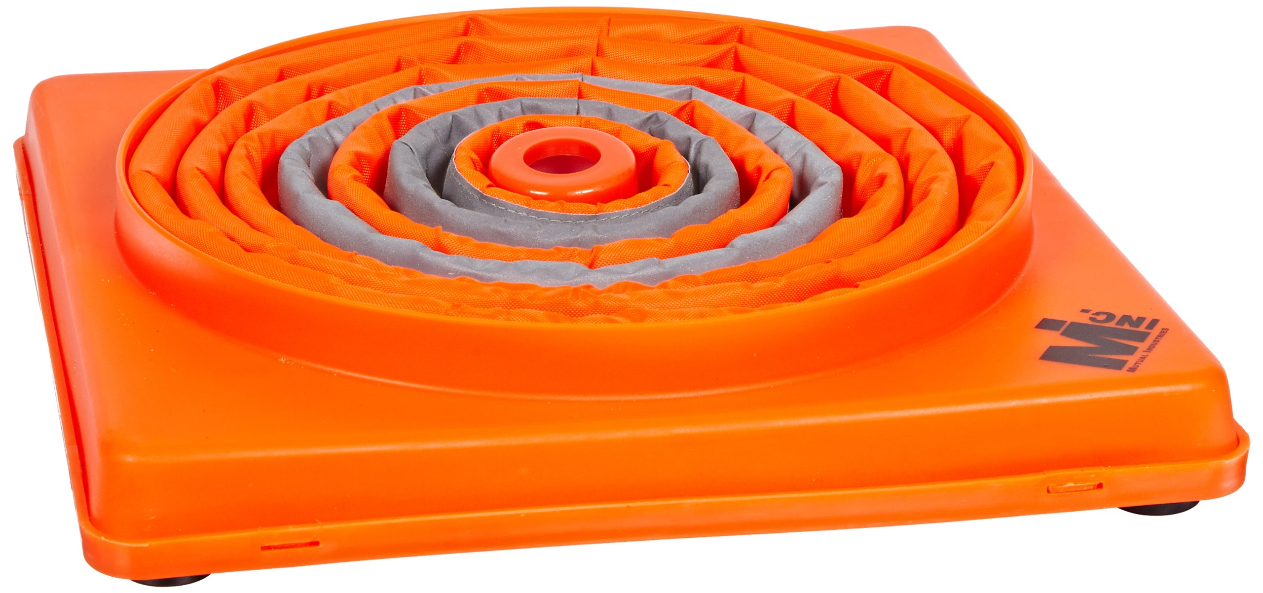 Mutual 17714 Nylon Collapsible Traffic Cone, 28'' Height, Orange (Pack of 2)