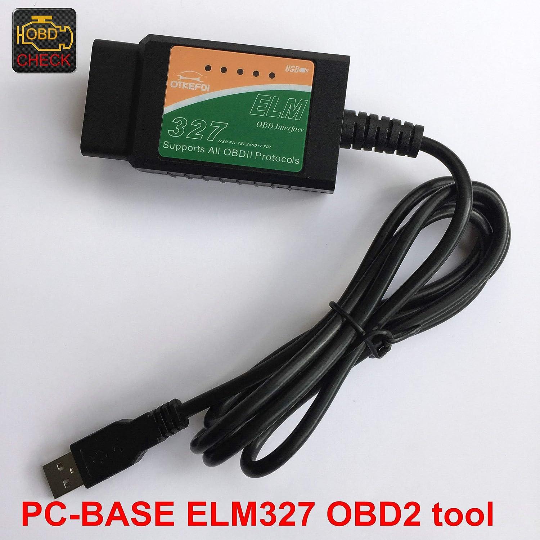 OBDII Diagnosescanner ELM327 USB OBD