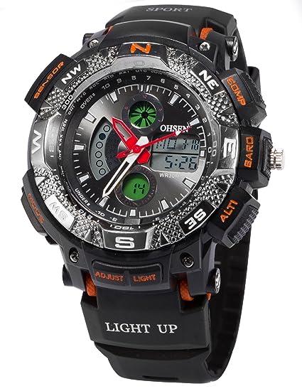 AMPM24 OHS177 - Reloj para Hombres, Correa de plástico Color Negro: Amazon.es: Relojes