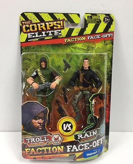 Rain The Corps Commando Figurine