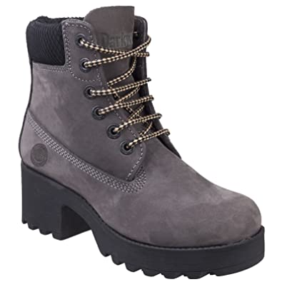 4f774c934794 Darkwood Pine Womens Other Leather Material Ankle Boots Smoke - UK Size 5.5  (EU 38