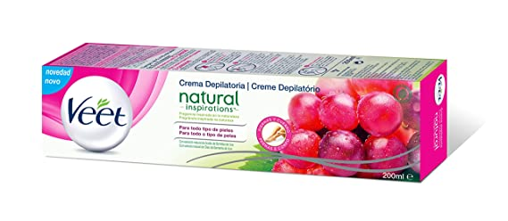 Veet Crema depilatoria - Natural Inspirations, 200ml: Amazon.es: Amazon Pantry