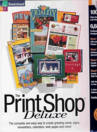 print shop deluxe free  full