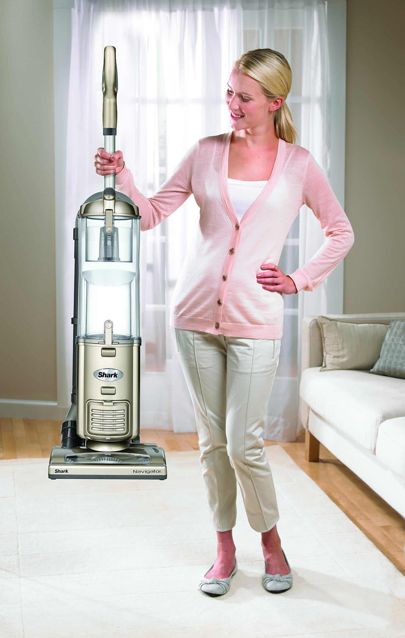 Shark Navigator Deluxe Upright Vacuum, Champagne (NV42)
