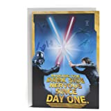 Amazon Com Star Wars Build Your Own Yoda Birthday Card By