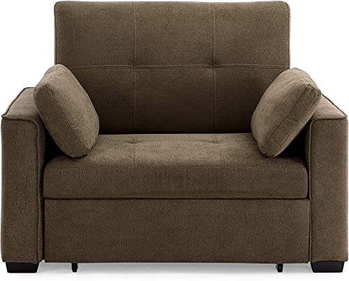 Mechali Products Furniture Sofa Sleeper Convertible into Lounger Love seat Bed – Twin, Full Queen Sizes – Twin
