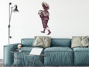 Wand Deko Sticker   Selbstklebendes Wand Tattoo | Personalisierte  Wandgestaltung Von Wohn  U.