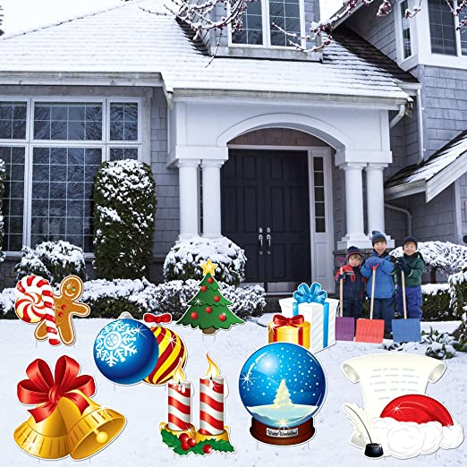 Christmas Lawn Decoration Set​​ Christmas Yard Decorations