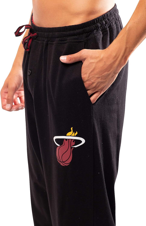 Ultra Game NBA Mens 2 Piece Super Soft Tee Shirt /& Lounge Pants Set