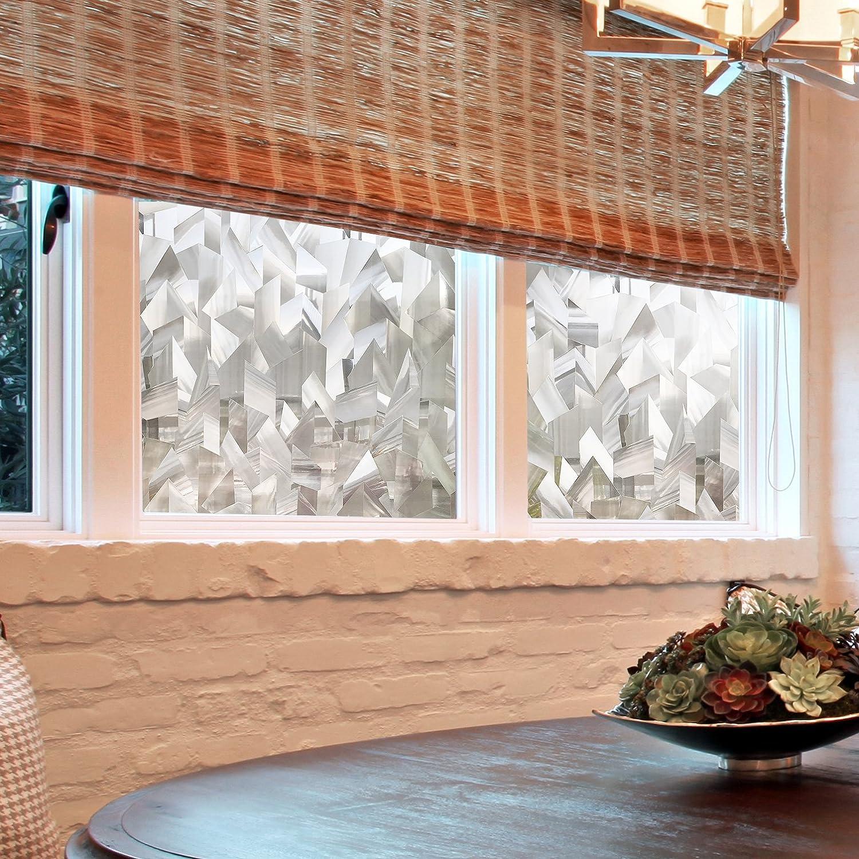 CottonColors 3D Fensterfolie Sichtschutzfolie Fensterschutzfolie