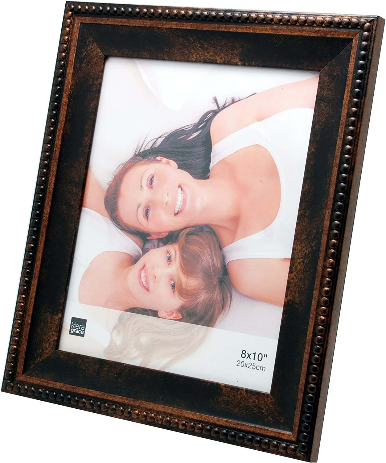 kieragrace Traditional Picture-Frames, 8 by 10-Inch, Bronze