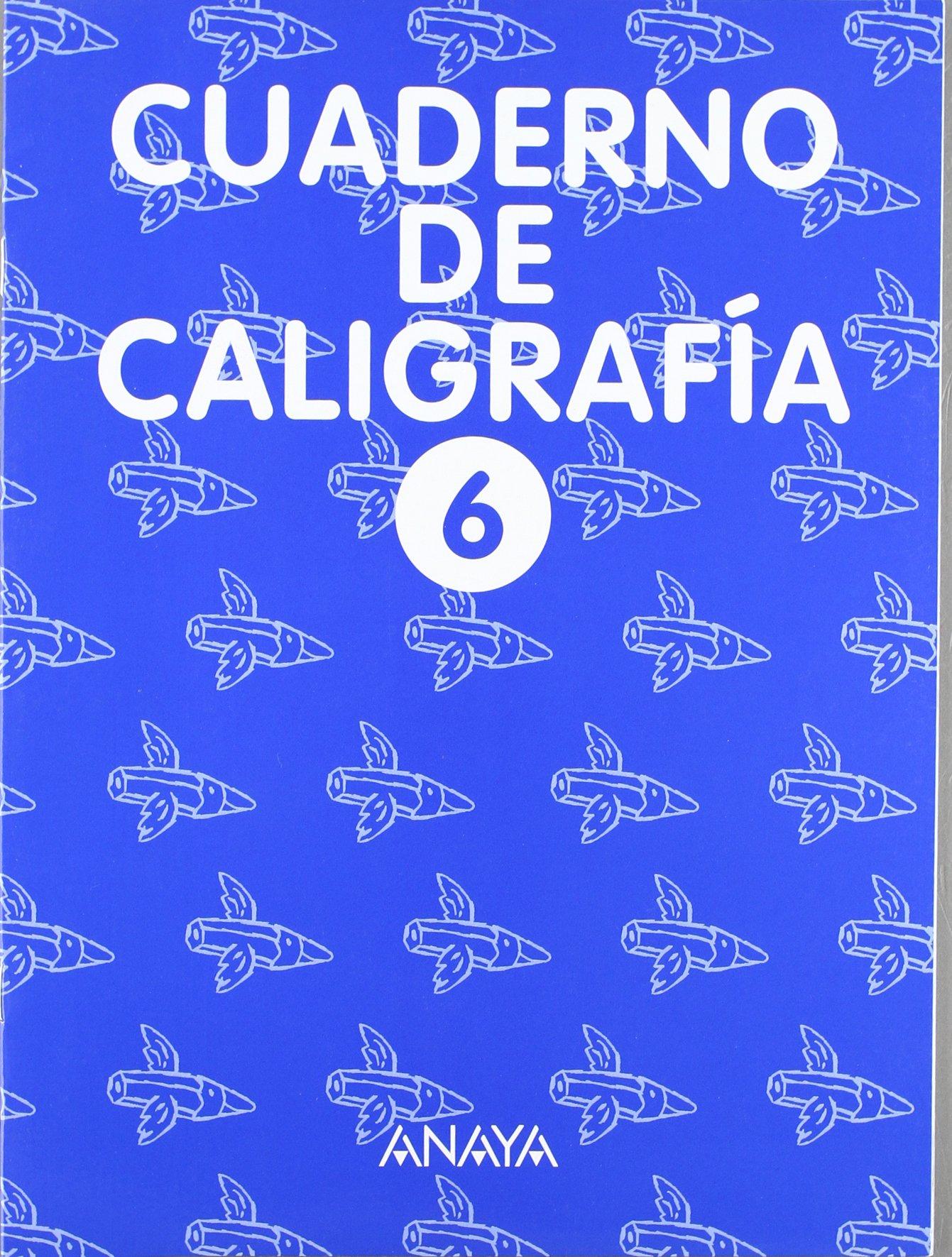 Cuaderno de Caligrafía 6 pdf epub
