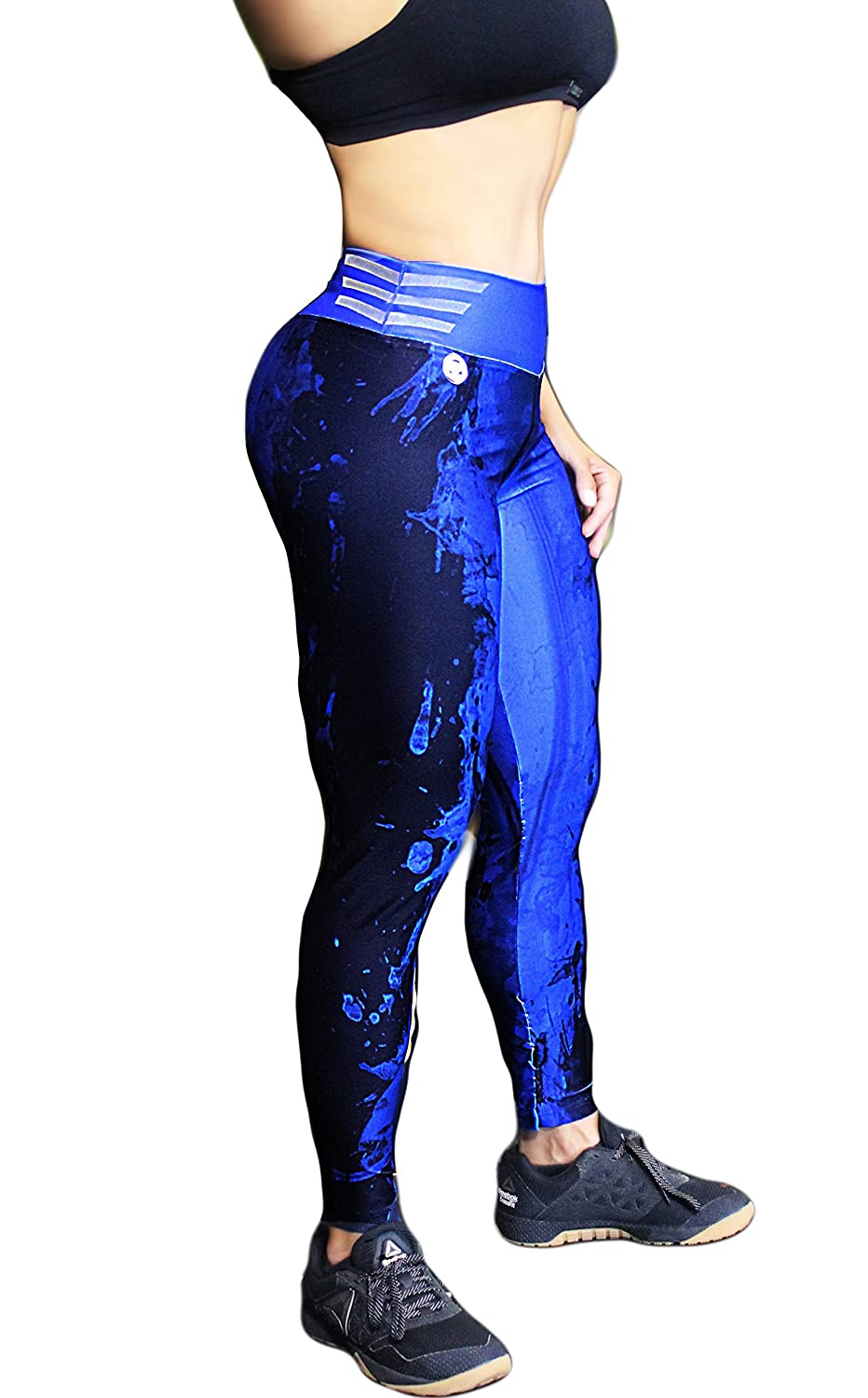 Tights Leggings for Gym Running THIAGO REAL Womens Power Compression Legging WEIGT Lifting and Crossfit Athletes
