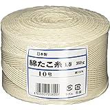 遠藤商事 業務用 たこ糸 10号 (玉巻360g) 綿 日本製 ATK10010