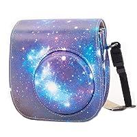 Fujifilm Instax Mini 9 Custodia, Leebotree Protettiva in Pelle Soft PU con cinturino a spalla e tasca per Fujifilm Instax Mini 8 8+ / Mini 9 Fotocamera istantanea