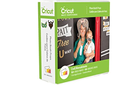 Amazoncom Cricut Photo Booth Props Cartridge