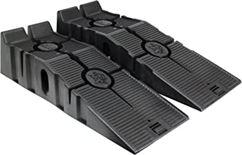2-Pack RhinoGear 11909ABMI FloTool RhinoRamps Vehicle Ramp