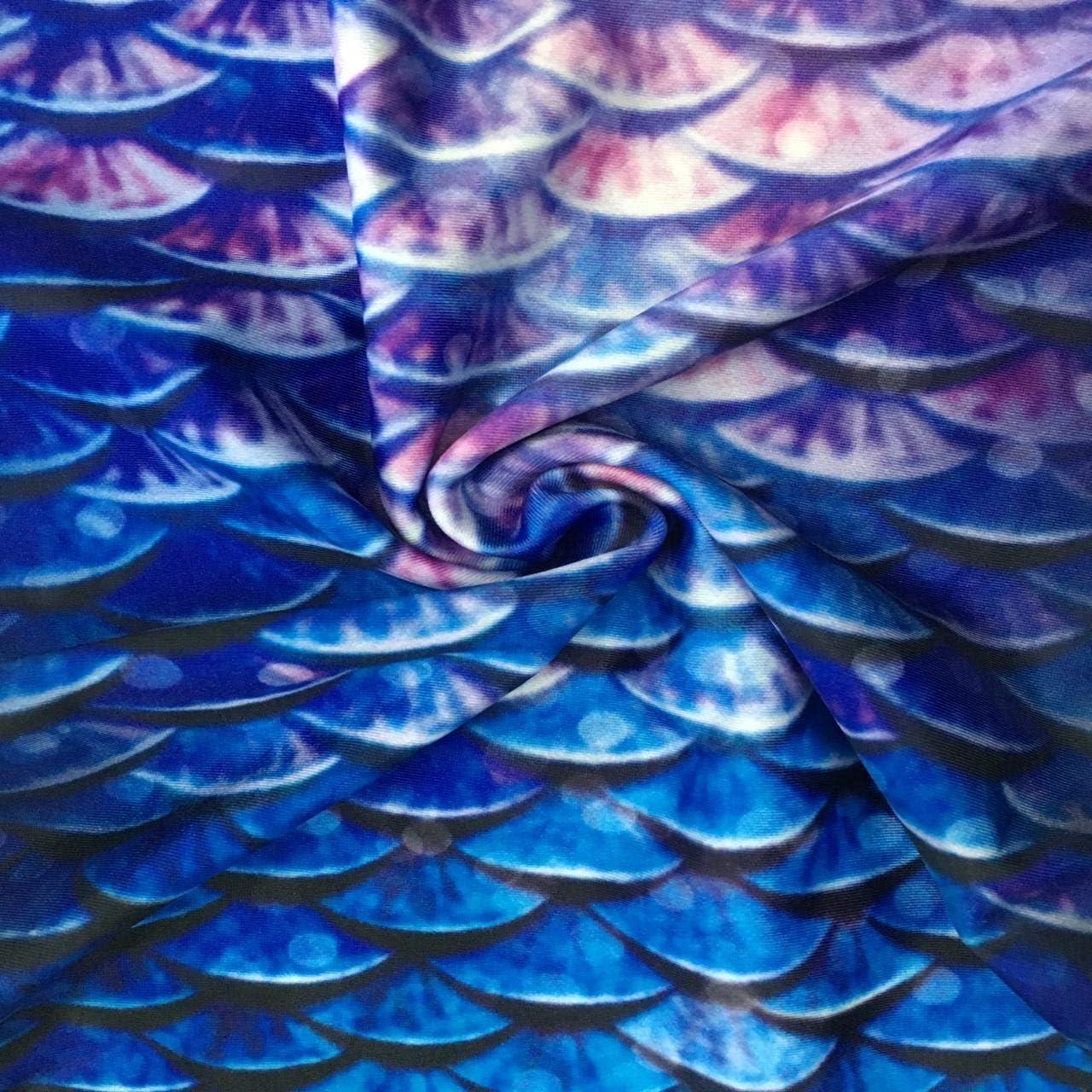 CHIC DIARY Meerjungfrauenschwanz M/ädchen Bikini Set Zum Schwimmen Meerjungfrau Flosse Badeanz/üge Prinzessin Cosplay Bademode