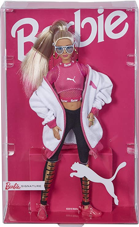 Amazon.com: Barbie Puma Doll, Blonde: Toys & Games