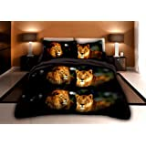 Amazon Price History for:3 Piece Set Lion Pride Soft 3d Print Comforter Set (016) (King)