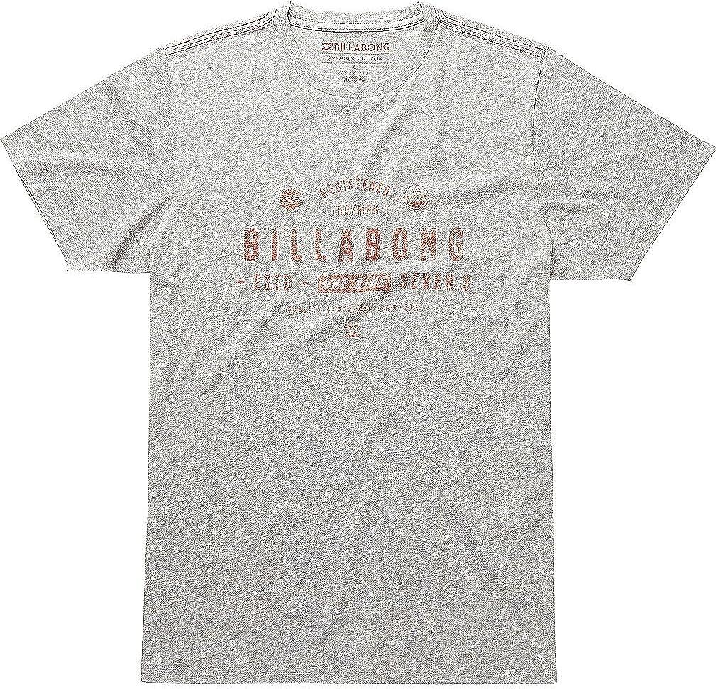 BILLABONG Hombre Watcher té SS – Camiseta, Hombre, Watcher tee SS, Gris, M: Amazon.es: Ropa y accesorios