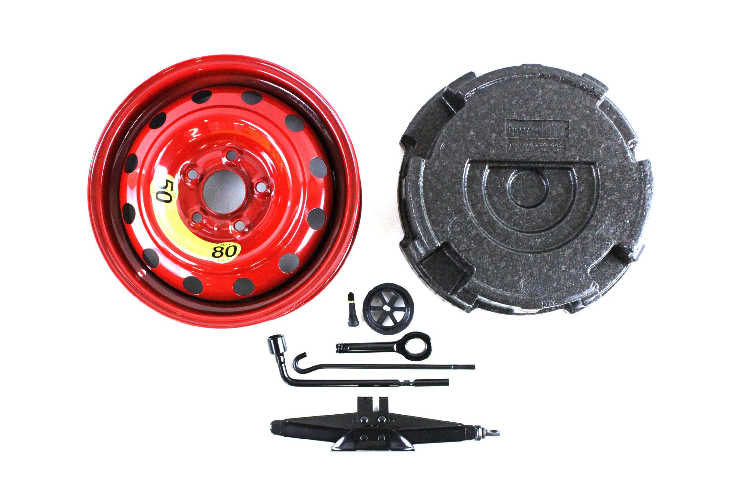 Genuine Hyundai Accessories 09100-3Y111 Spare Tire Wheel Kit for Hyundai Elantra