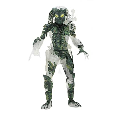 "NECA - Predator - 7"" scale action figure 30th anniversary - Jungle Demon: Toys & Games"