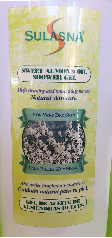 Amazon.com : Jabon liquido de almendras. Hidrata la piel. Para todo tipo de piel. Sweet Almond Oil shower gel. For all skin type. 25.3Oz : Beauty