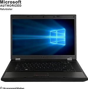 Dell Latitude E5510 15.6 Inch Laptop PC, Intel Core i3-350M 2.26GHz, 4G DDR3, 320G, WiFi, DVD, VGA, Windows 10 Pro 64 Bit Multi-Language Support English/French/Spanish(Renewed)