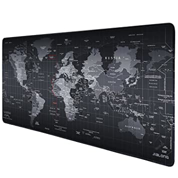 jialong tapis de souris gaming xxl grand sous main bureau tapis souris gamer 900x400 map - Tapis De Souris Gamer
