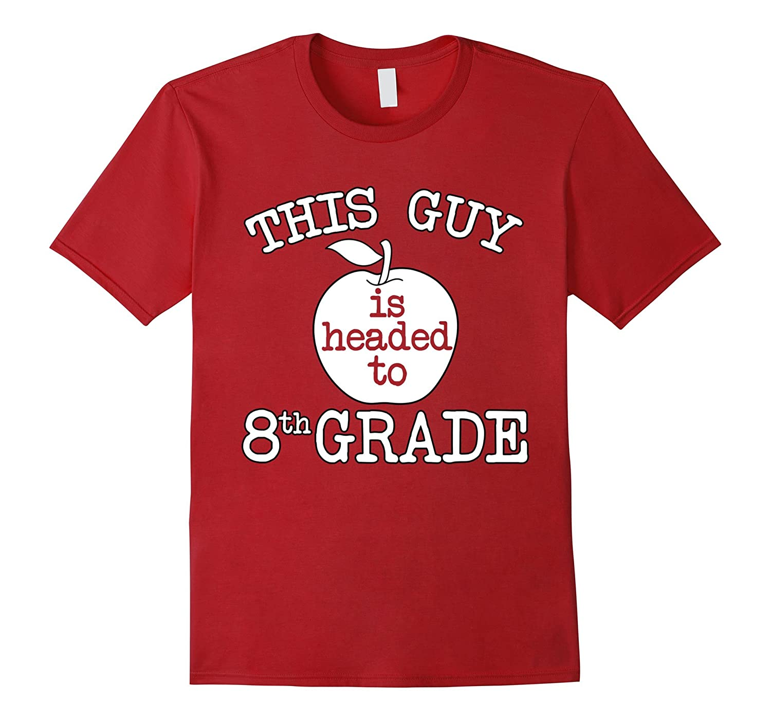 This Guy is Headed to 8th Grade T-Shirt-Art
