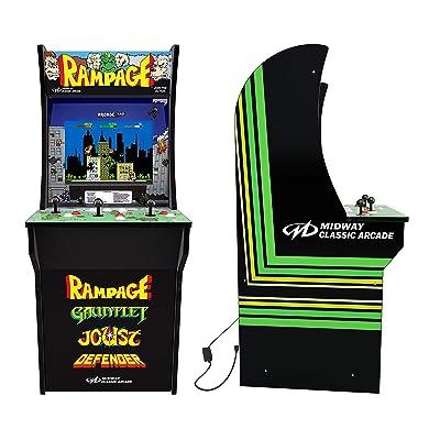 Rampage (3-Player Joy Stick) 4 Foot Arcade Machine: Video Games