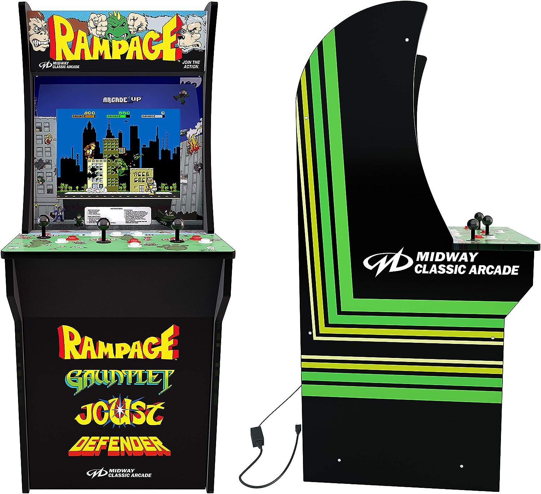 Rampage (3-Player Joy Stick) 4 Foot Arcade Machine