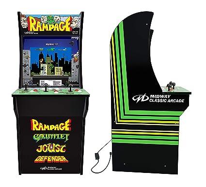 Amazoncom Rampage 3 Player Joy Stick 4 Foot Arcade