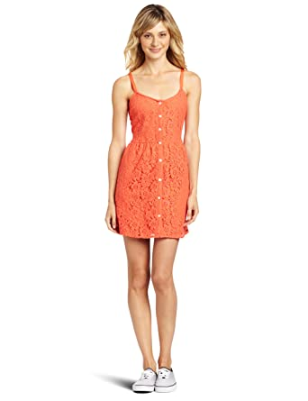2a079206642 Volcom Juniors Not So Classic Dress at Amazon Women s Clothing store  Volcom  Women S