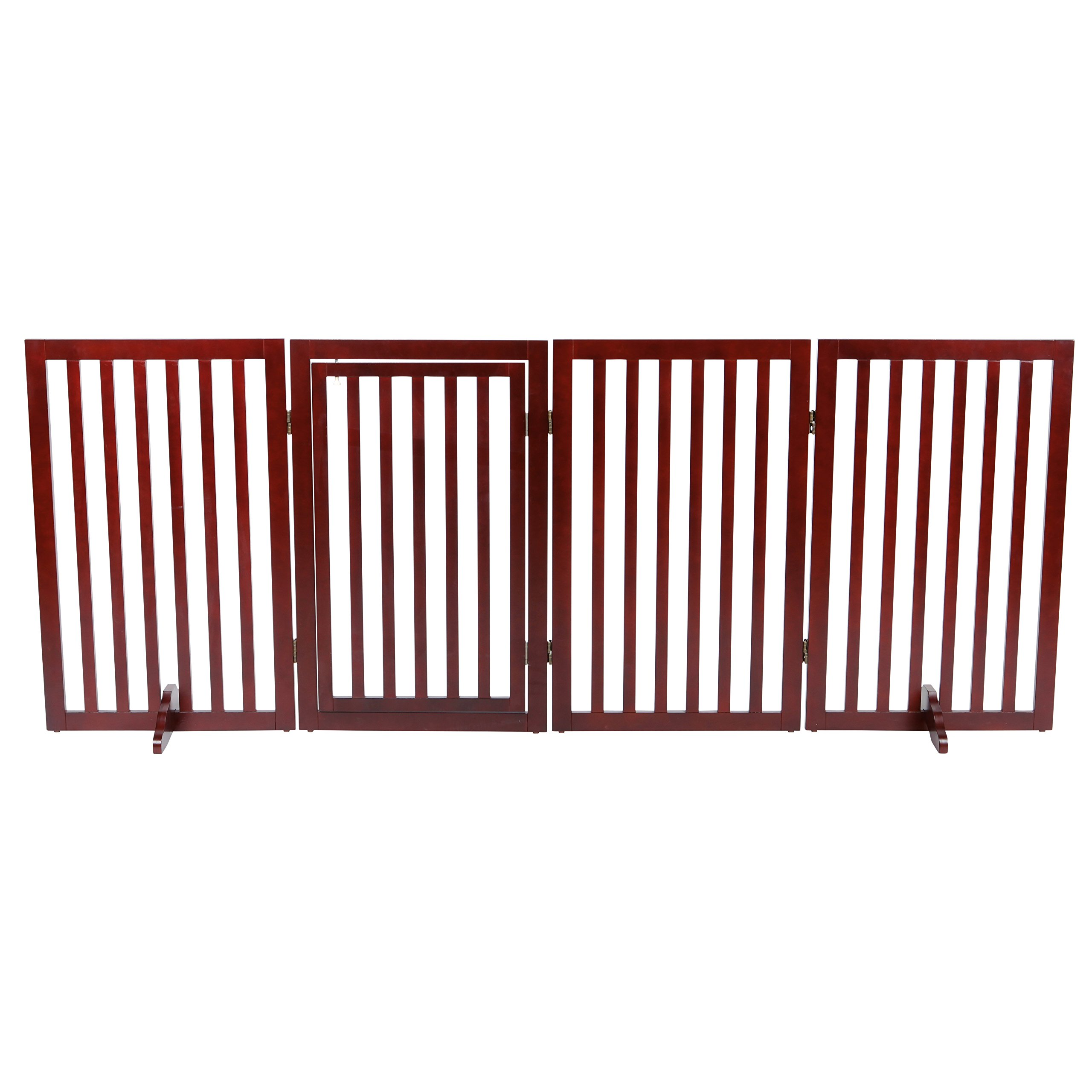 Trixie Pet Products Convertible Wooden Dog Gate