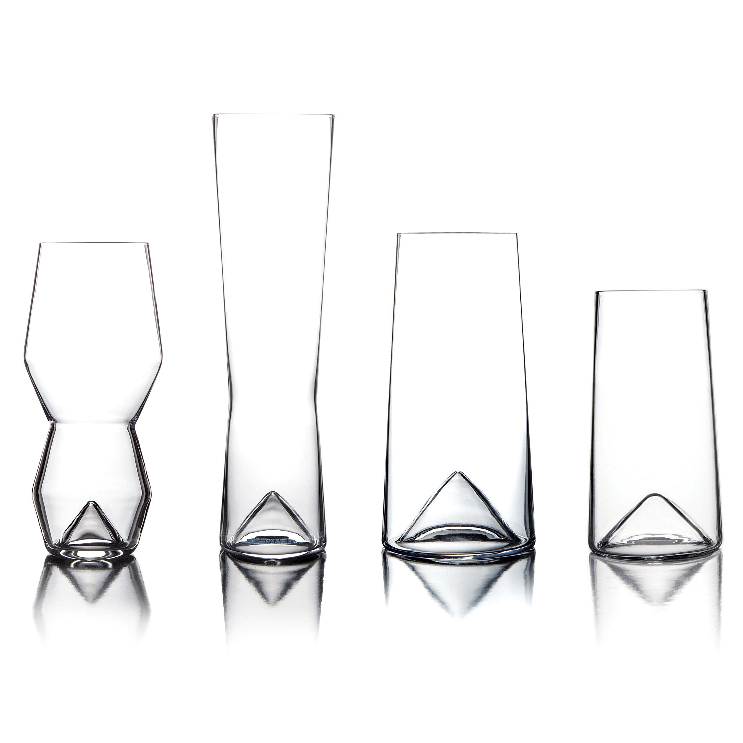 Sempli Monti-Taste Beer Glasses, Set of 4 in Gift Box by Sempli (Image #2)