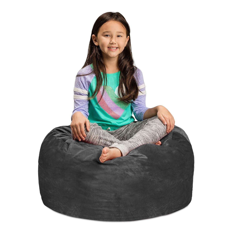 Amazon.com: Saco de sofá – felpa, ultra suave para niños ...