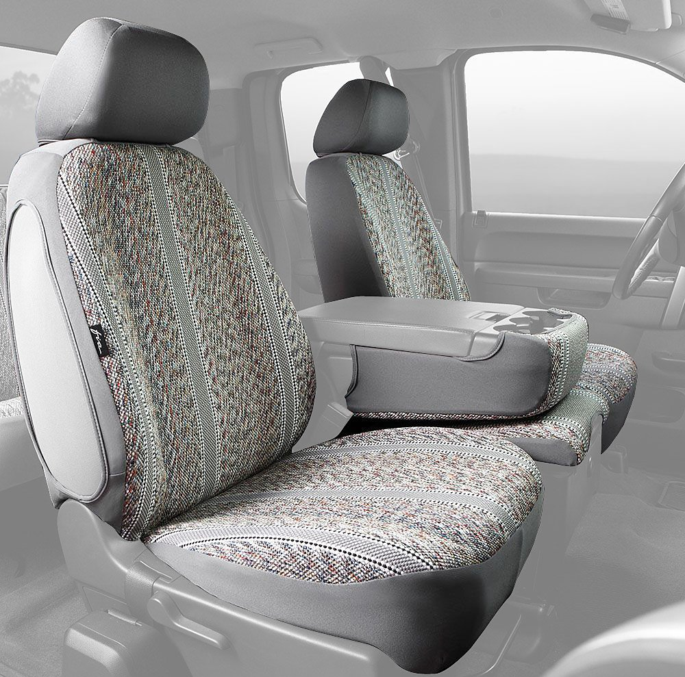 Poly-Cotton, Fia SP82-92 GRAY Custom Fit Rear Seat Cover Split Seat 60//40 Gray