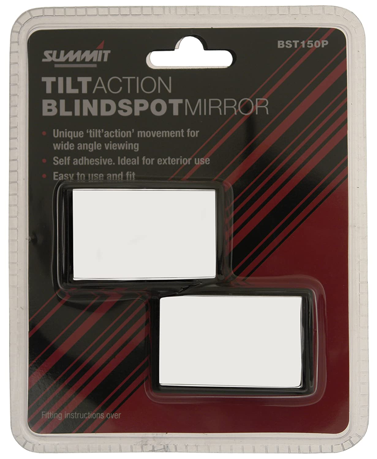 Summit BST150P Tilt Action Blind Spot Mirrors (A Pair) Mountney Ltd